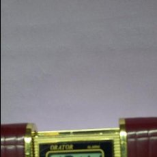 Despertadores antiguos: RELOJ DESPERTADOR DE VIAJE ORATOR. Lote 62800788