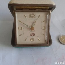 Despertadores antiguos: VINTAGE RELOJ DESPERTADOR UWERSI ,WEST GERMANY. Lote 62871100