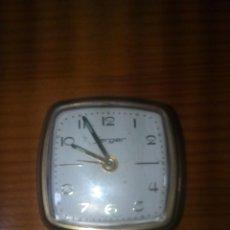Despertadores antiguos: ANTIGUO RELOJ DESPERTADOR ALEMÁN JERGER. Lote 63475315