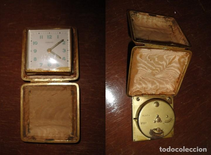 Despertadores antiguos: ANTIGUO RELOJ EUROPA 2 JEWELS - Foto 2 - 66791662