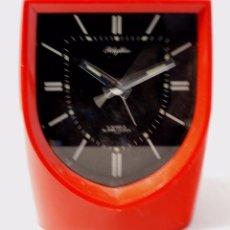 Despertadores antiguos: RELOJ DESPERTADOR RHYTHM A CUERDA MODELO 51150.. Lote 67098537