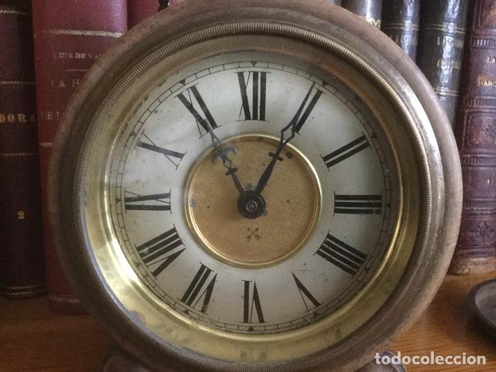 Despertadores antiguos: Precioso y antiguo reloj alarma. - Foto 5 - 68117705