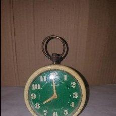 Despertadores antiguos: RELOJ DESPERTADOR TITAN. Lote 56398551