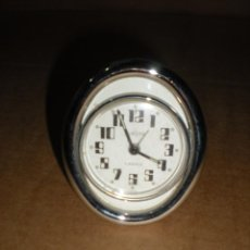 Despertadores antiguos: RELOJ MESILLA ACERO MARCA EUROPA 2 JEWELS 7X8CM. Lote 68826481