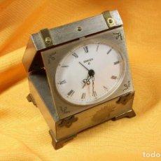 Despertadores antiguos: RELOJ PLEGABLE DESPERTADOR BAÚL. S.XX. Lote 68829073