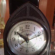 Despertadores antiguos: ANTIGUO RELOJ / DESPERTADOR HAMMOND. MADE IN USA. ELECTRICO. BAQUELITA. Lote 70176609