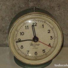 Despertadores antiguos: ANTIGUO RELOJ DESPERTADOR DE SOBREMESA MICRO,PARA REPUESTOS O REPARAR.. Lote 70248249