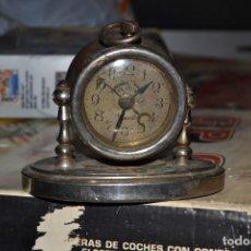 Despertadores antiguos: RELOJ DESPERTADOR PROPAGANDA JABONES FENICIA MARTOS . Lote 71192681