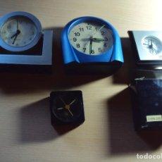 Despertadores antiguos: LOTE DESPERTADORES. Lote 74464567
