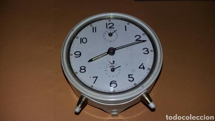 RELOJ DESPERTADOR DE CUERDA - MARCA JAZ - CAR61 (Relojes - Relojes Despertadores)