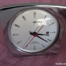 Despertadores antiguos: RELOJ DESPERTADOR VINTAGE MADE IN CHINA. Lote 77244397