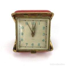 Despertadores antiguos: DESPERTADOR DE VIAJE MARCA EUROPA · 2 JEWELS · GERMANY · RELOJ ANTIGUO. Lote 77272981