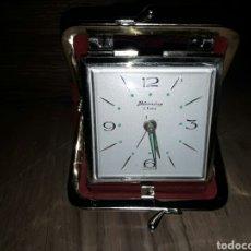 Despertadores antiguos: ANTIGUO RELOJ DESPERTADOR FUNCIONANDO. Lote 79158879