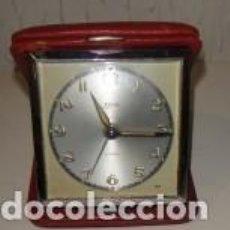 Despertadores antiguos: RELOJ DESPERTADOR KAISER, 4 RUBÍS. Lote 80116321