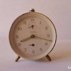 Despertadores antigos: ANTIGUO RELOJ DESPERTADOR JUNGHANS. AÑOS 50. FUNCIONANDO. . Lote 80487849