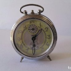 Despertadores antiguos: ANTIGUO RELOJ DESPERTADOR OBAYARDO. AÑOS 60. FUNCIONANDO. . Lote 80491577