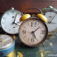 Despertadores antiguos: DESPERTADORES - 4 .. Lote 80917452