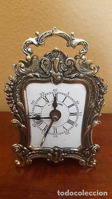 RELOJ DESPERTADOR PENDOLÍN DH FRÁNCÉS. 1880. (Relojes - Relojes Despertadores)