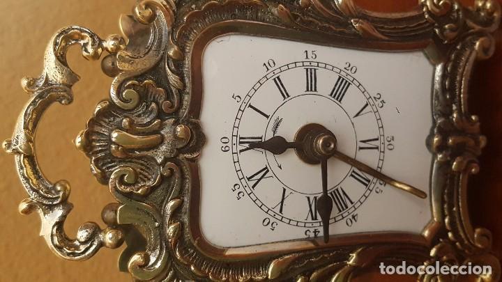 Despertadores antiguos: Reloj despertador pendolín DH fráncés. 1880. - Foto 2 - 80964748