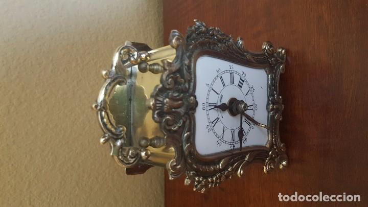 Despertadores antiguos: Reloj despertador pendolín DH fráncés. 1880. - Foto 5 - 80964748