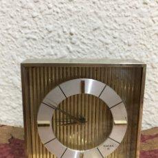 Despertadores antiguos: DESPERTADOR SUIZO 8 FUNCIONA. Lote 81066814