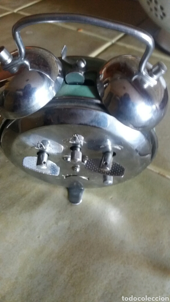 Despertadores antiguos: Reloj cuerda - Foto 3 - 81574283