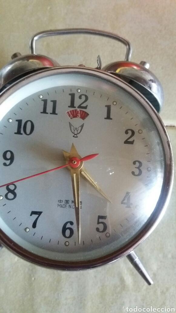 Despertadores antiguos: Reloj cuerda - Foto 4 - 81574283