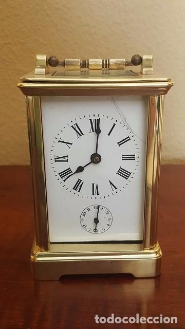 RELOJ DESPERTADOR DE CARROCERÍA CON EL ÁNCORA VISTA. (Relojes - Relojes Despertadores)