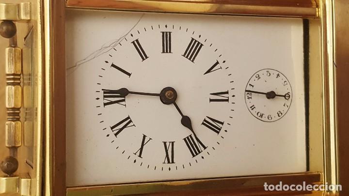Despertadores antiguos: Reloj despertador de carrocería con el áncora vista. - Foto 2 - 81628720