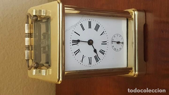 Despertadores antiguos: Reloj despertador de carrocería con el áncora vista. - Foto 3 - 81628720