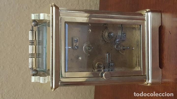 Despertadores antiguos: Reloj despertador de carrocería con el áncora vista. - Foto 6 - 81628720