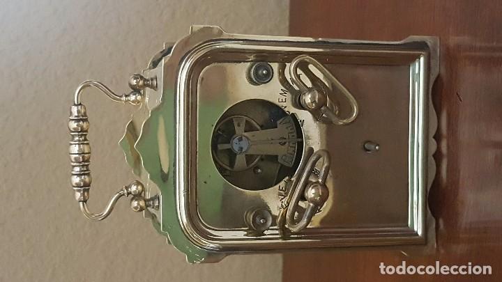 Despertadores antiguos: Reloj despertador de viaje francés de 1850. En funcionamiento. - Foto 4 - 81632492