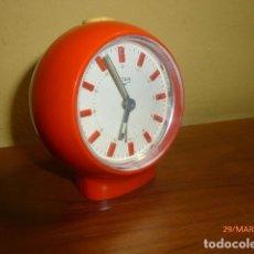 Despertadores antiguos: RELOJ DESPERTADOR CARGA MANUAL. TITAN. AÑOS 70. RETRO VINTAGE. A ESTRENAR.. Lote 81805580