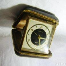 Despertadores antiguos: RELOJ DESPERTADOR DE VIAJE. Lote 82239052