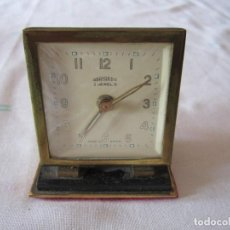 Despertadores antiguos: DESPERTADOR TOTALMENTE MECÁNICO, DE CUERDA MARCA OBAYARDO MADE IN SPAIN. Lote 83736320
