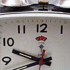 Despertadores antiguos: DESPERTADOR DE CAMPANAS POLARIS. Lote 83905100