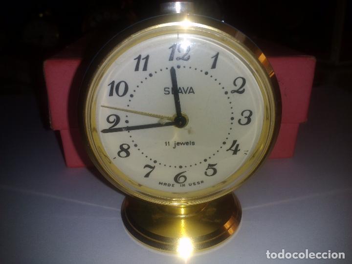 Despertadores antiguos: Reloj despertador( muy buen estado)funcionando - Foto 2 - 84086308
