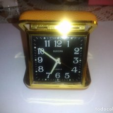Despertadores antiguos: RELOJ DESPERTADOR( MUY BUEN ESTADO)FUNCIONANDO. Lote 84087400