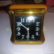 Despertadores antiguos: RELOJ DESPERTADOR( MUY BUEN ESTADO)FUNCIONANDO. Lote 84087768