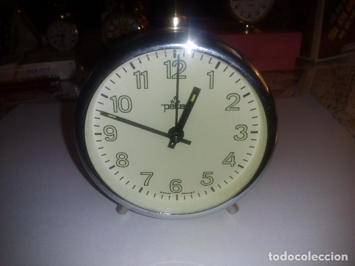 Despertadores antiguos: Reloj despertador( muy buen estado)funcionando - Foto 2 - 84089548