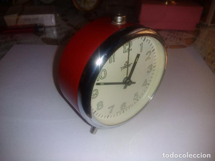 Despertadores antiguos: Reloj despertador( muy buen estado)funcionando - Foto 3 - 84089548