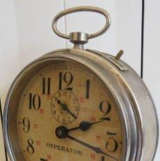 Despertadores antiguos: DESPERTADOR ITALIANO IMPERATOR - PRIMERA MITAD DEL SIGLO XX. Lote 84367300