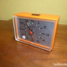 Despertadores antiguos: RELOJ DESPERTADOR GOLDBUHL. AÑOS 70 VINTAGE. A ESTRENAR, DE STOCK DE TIENDA. Lote 84835728