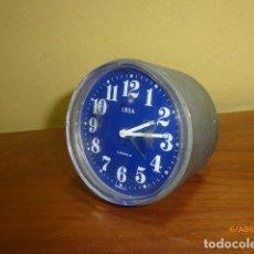 Old Alarm Clocks - RELOJ DESPERTADOR IRSA. AÑOS 70 VINTAGE. CARGA MANUAL. A ESTRENAR, DE STOCK DE RELOJERÍA. - 84836984