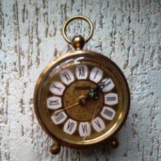 Despertadores antiguos: RELOJ DESPERTADOR MARCA BLESSING - CRISTAL RAJADO. Lote 85459948
