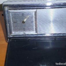 Despertadores antiguos: RELOJ DESPERTADOR DE VIAJE MELATRON. Lote 86480872