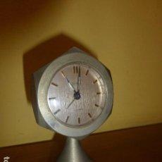 Despertadores antiguos: RELOJ DESPERTADOR SILCO. CARGA MANUAL. AÑOS 70 VINTAGE. A ESTRENAR, DE STOCK DE RELOJERÍA. Lote 86724380