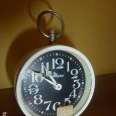 Despertadores antiguos: RELOJ DESPERTADOR MICRO. CARGA MANUAL. AÑOS 70 VINTAGE. A ESTRENAR, DE STOCK DE RELOJERÍA. Lote 86724568