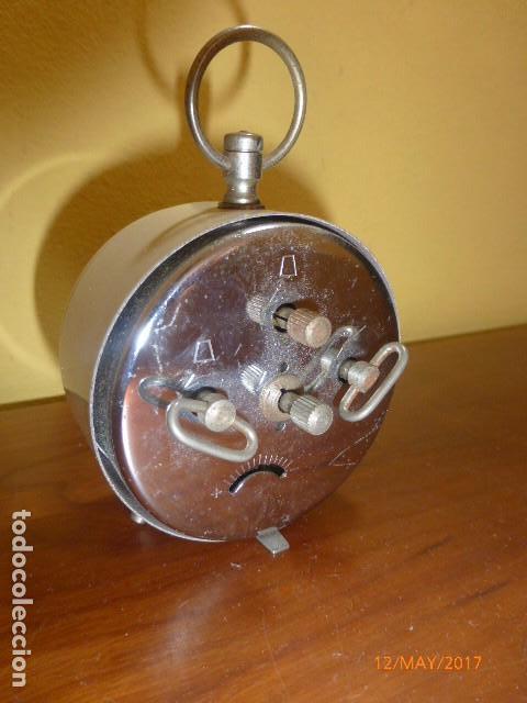 Despertadores antiguos: RELOJ DESPERTADOR MICRO. CARGA MANUAL. AÑOS 70 VINTAGE. A ESTRENAR, DE STOCK DE RELOJERÍA - Foto 2 - 86724568