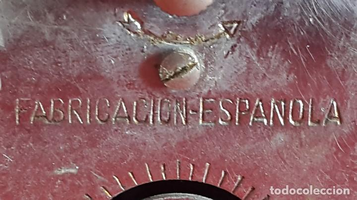 Despertadores antiguos: ANTIGUO RELOJ DESPERTADOR - CID ZAFIRO - Foto 4 - 99707588